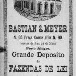 O prédio comercial retratado no Anuário da Província de 1888.