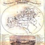 Planta de Porto Alegre - 1868