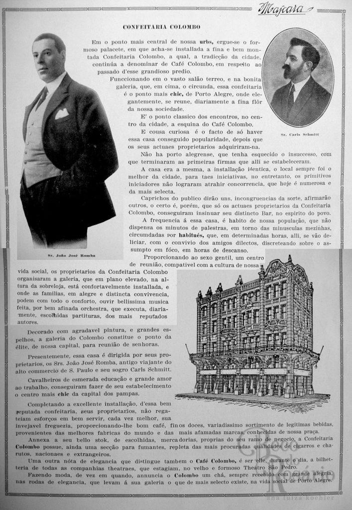 A Máscara, Número Comemorativo do Centenário da Independência, 1922. Confeitaria Colombo.