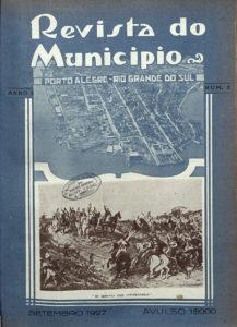 Capa da Revista do Município, 1927, Ed. 1, capa. Hemeroteca Digital da Biblioteca Nacional.