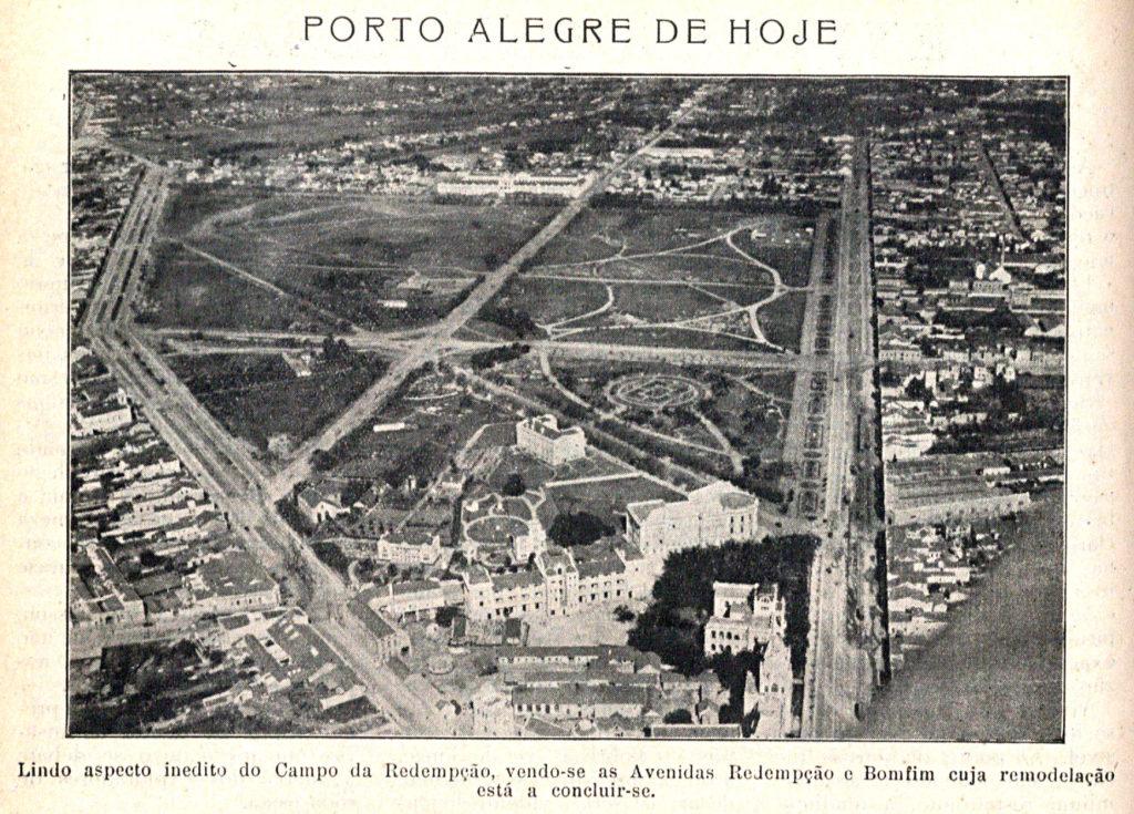 """Campo da Redenção na """"Revista do Município"""", Ed. 20, 1929, p. 8."""