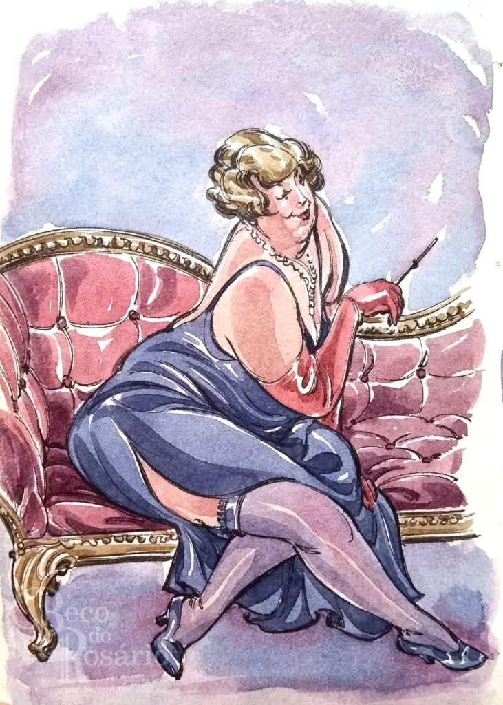 Quer fumar mademoiselle - capa_02_Frederica_2014