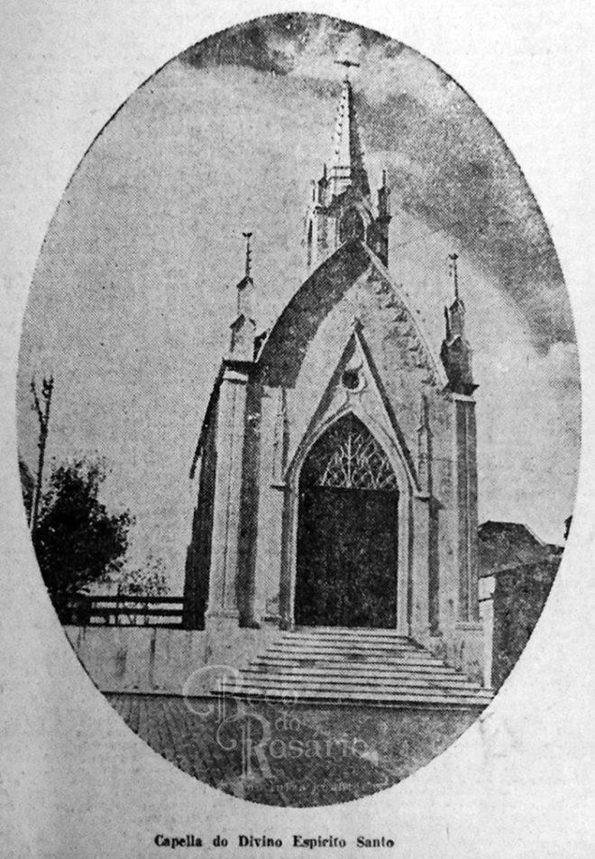 Capela do Império. Correio do Povo, 26/03/1929, Hemeroteca do AHMMV. Autoria desconhecida.