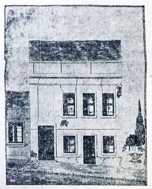 """""""A sua casa está assim"""" Correio do Povo, 12/03/1929, p. 1. Hemeroteca do Arquivo Histórico Moysés Vellinho de Porto Alegre."""