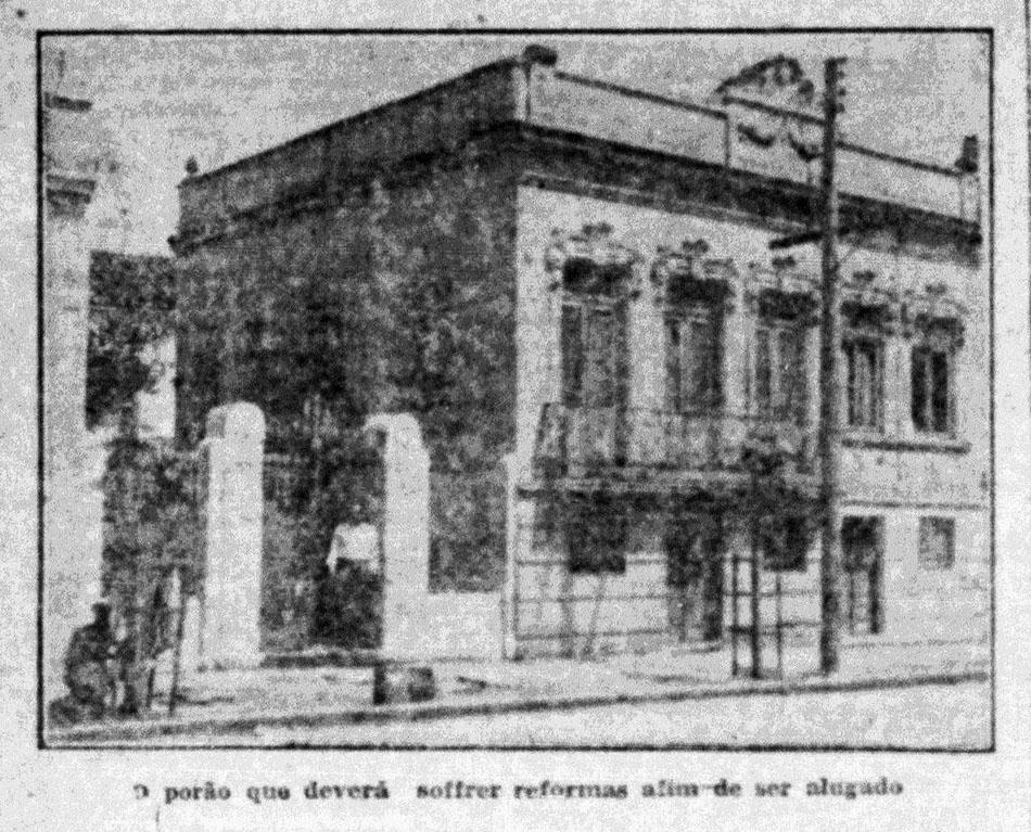 """""""O problema dos porões"""". Estado do Rio Grande, 03/12/1930, p. 6. Hemeroteca digital da Biblioteca Nacional. Foto."""