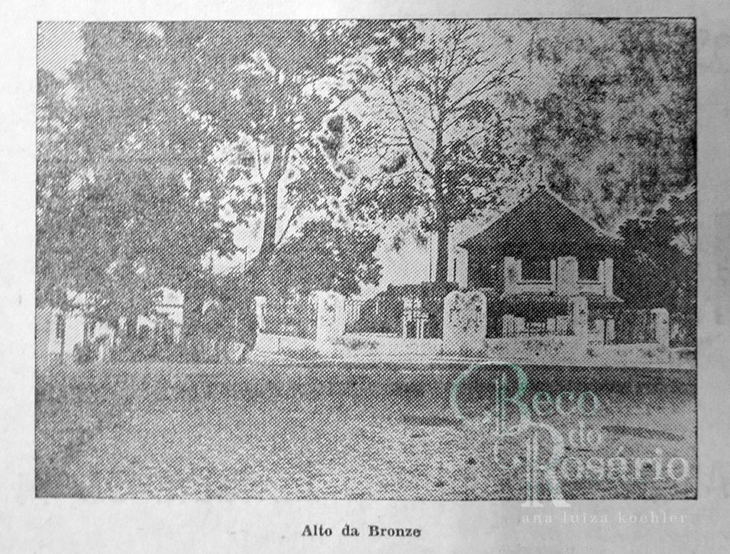 """""""Alto da Bronze"""". Correio do Povo, 21/4/1929, p. 11. Hemeroteca do AHMMV."""