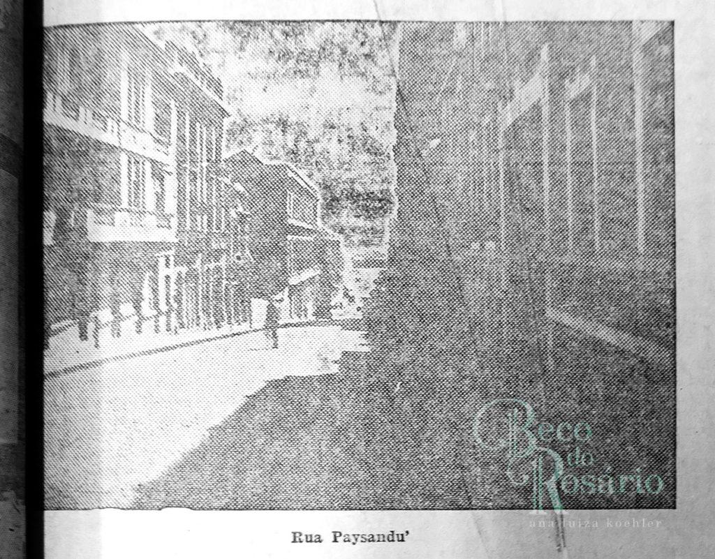 """""""Rua Paysandú"""". Correio do Povo, 21/4/1929, p. 11. Hemeroteca do AHMMV."""