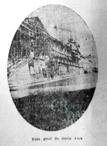 """""""Vista geral da Santa Casa"""". Correio do Povo, 23/4/1929, p. 5. Hemeroteca do AHMMV."""