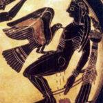 Prometeus, vaso grego