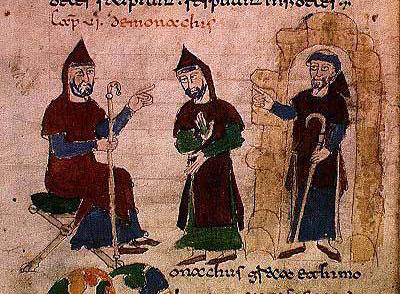 "Investidura de monges beneditinos. ""De Universo"", Rabanus Maurus."