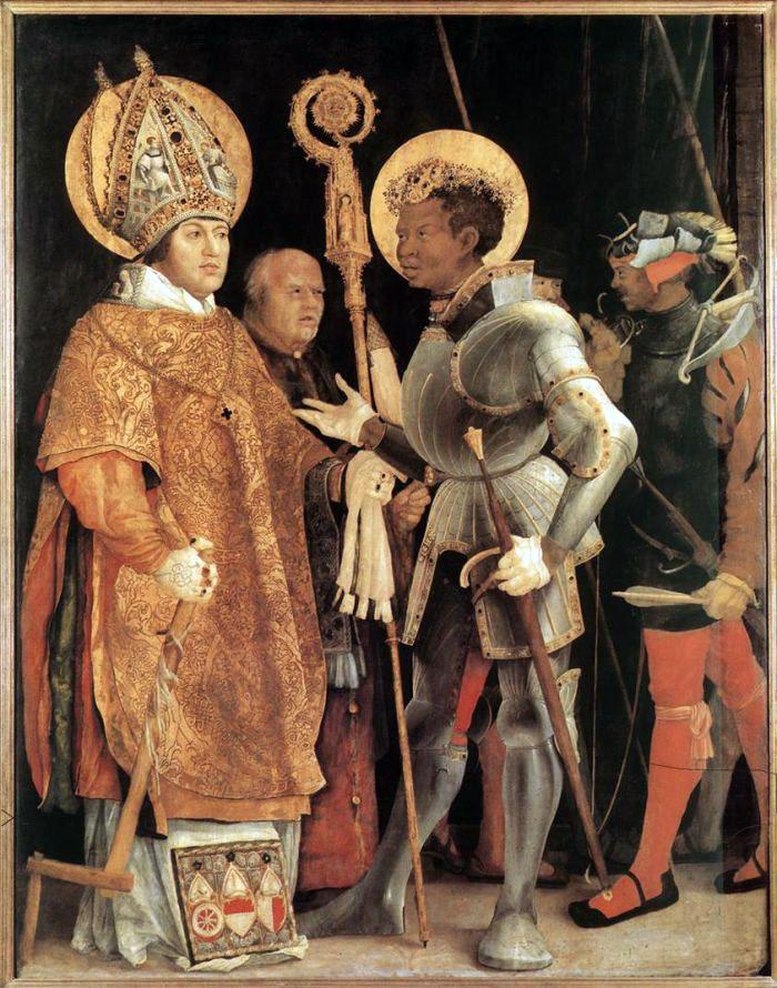 São Maurício, em quadro de Matthias Grünewald. Séc. XVI