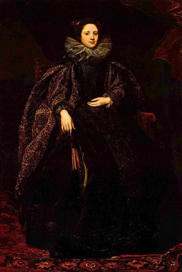 Retrato da Marquesa Balbi. Anthonis van Dyck, séc. XVII