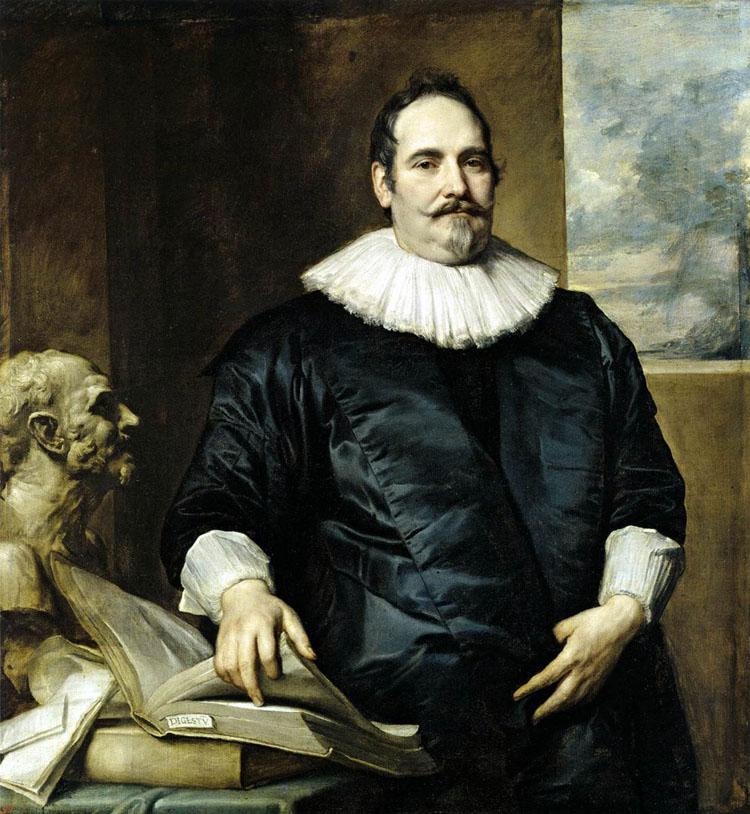 Retrato de Justus van Meerstraeten. Anthonis van Dyck, séc. XVII