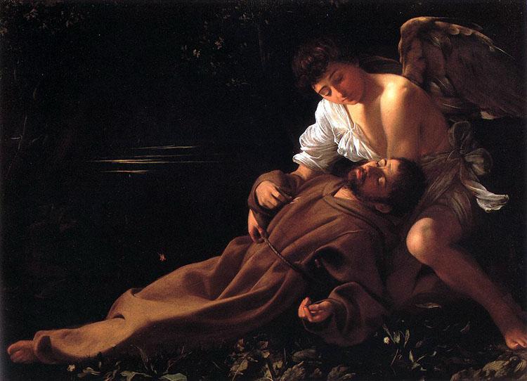 São Francisco. Caravaggio. séc. XVII