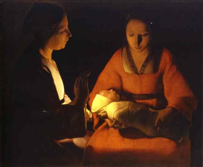 Natividade. Georges La Tour, séc. XVII