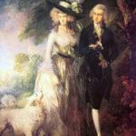 O passeio matinal. Thomas Gainsborough, ca. 1780