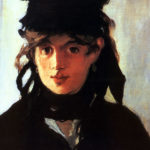 Retrato de Berthe Morisot. Édouard Manet, 1872