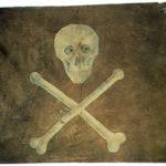 Bandeira de navio pirata, séc. XVIII