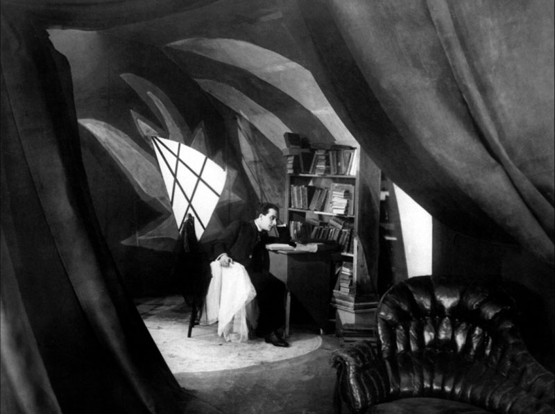 "O Gabinete do Doutor Caligari, 1920"""