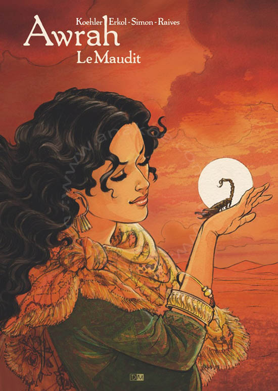 Couverture Awrah tome 2