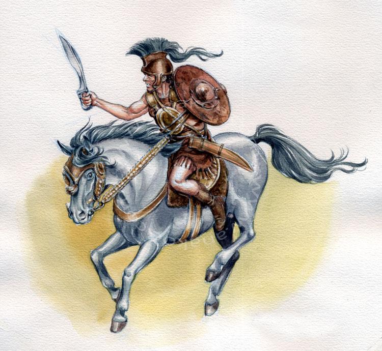 Iberian cavalry