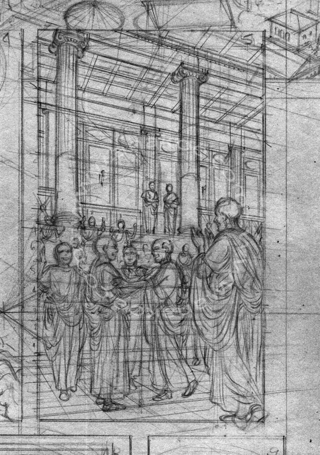 Carthage - Roman Curia sketch (1)