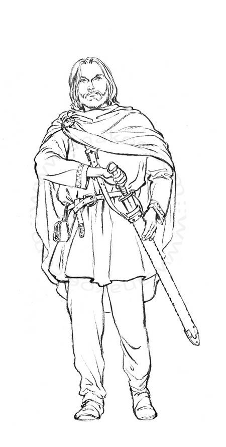 La Saga d'Elin - Einar adulte