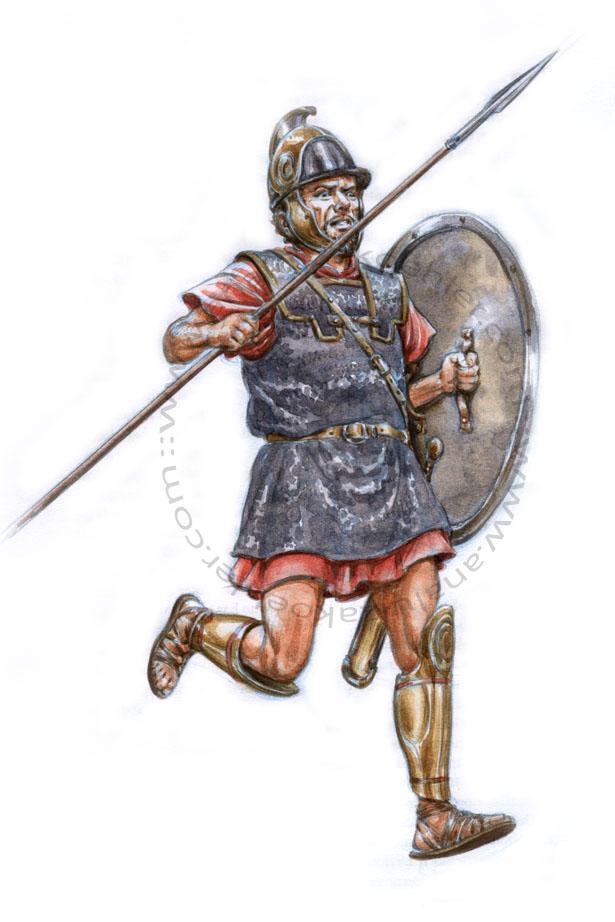 Carthage, Carthaginian infantryman