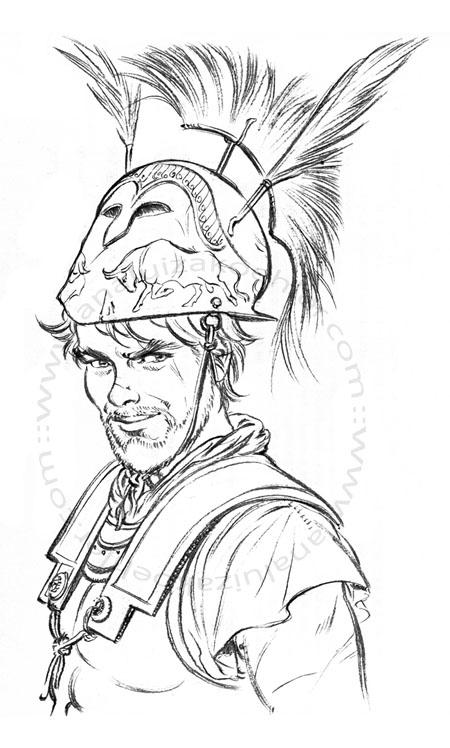 Hannibal, alexandrine armour