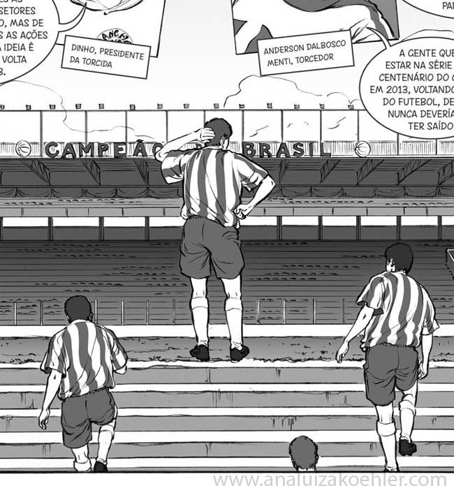 Juventude, stadium detail
