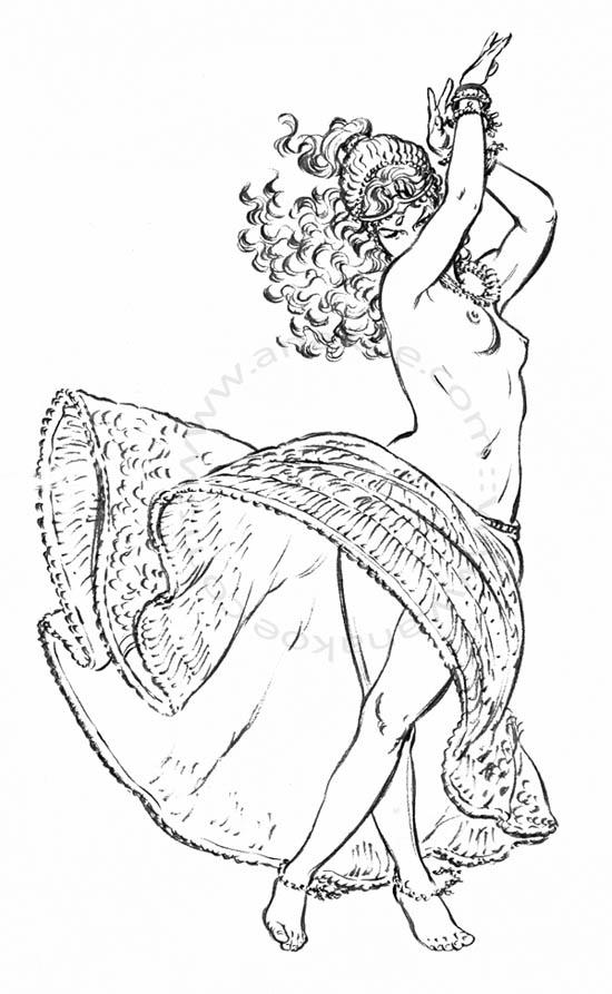 dancing Astarte