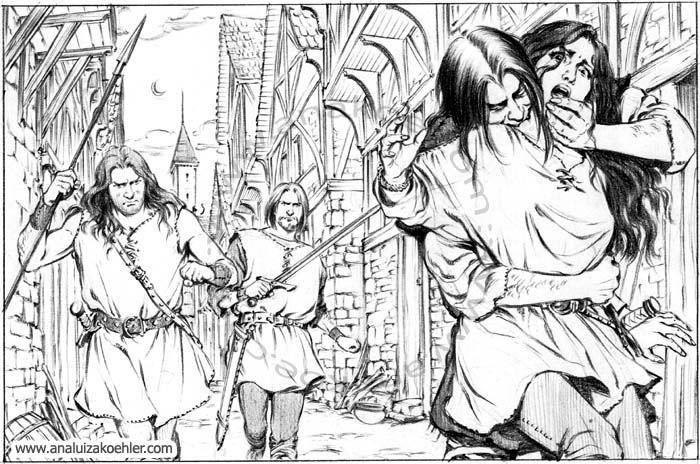 Book illustration for Midgard-Online Editions (FM09)