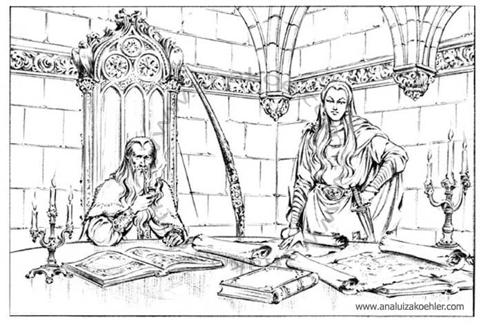 Book illustration for Midgard-Online Editions (WW03)