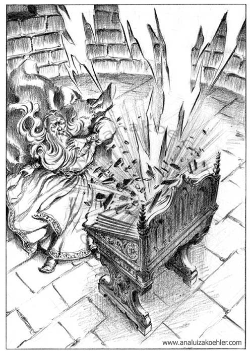 Book illustration for Midgard-Online Editions (WW05)