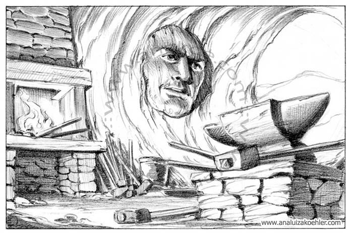 Book illustration for Midgard-Online Editions (WW09)