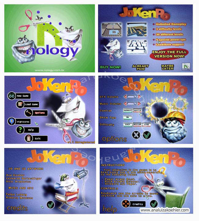 Game interface design for Nology Games (1)