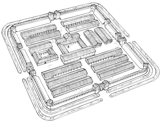 Römermuseum Osterburken - Roman fort (7)