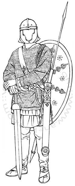 Römermuseum Osterburken - Roman soldier (17)