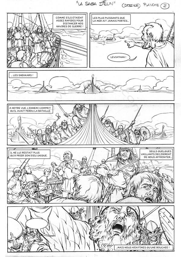 La Saga d'Elin - planche 2 de 9
