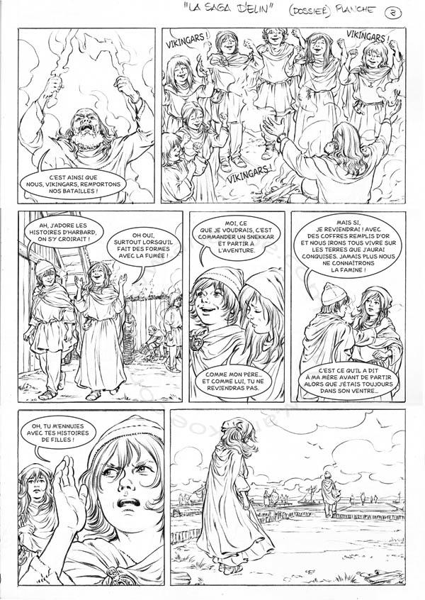 La Saga d'Elin - planche 3 de 9
