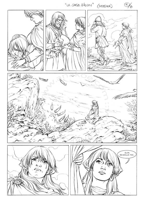 La Saga d'Elin - planche 4 de 9