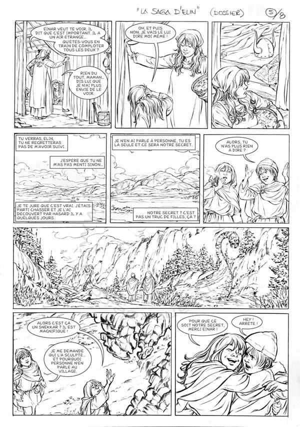 La Saga d'Elin - planche 5 de 9