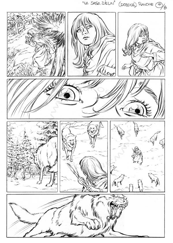 La Saga d'Elin - planche 7 de 9