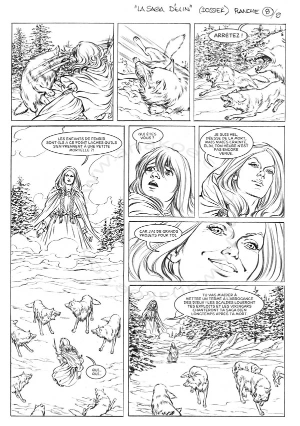 La Saga d'Elin - planche 8 de 9