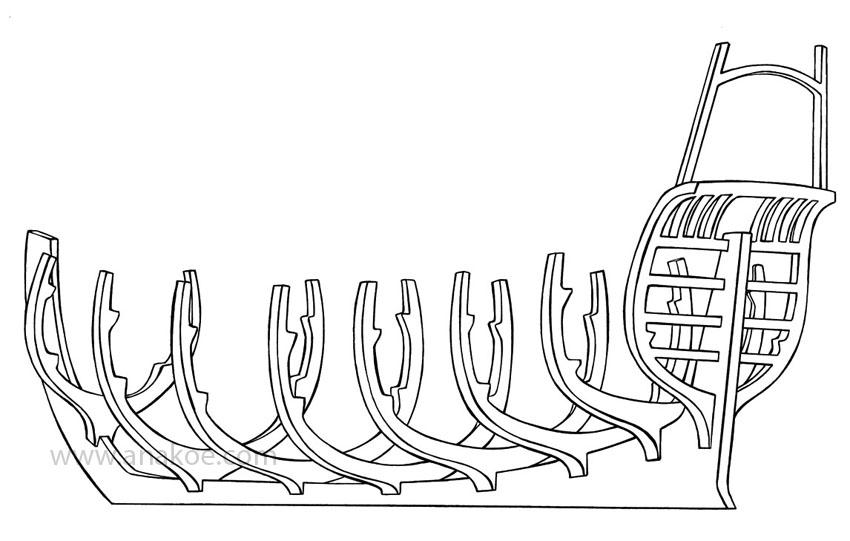 Schwedenspeicher Stade: ship structure