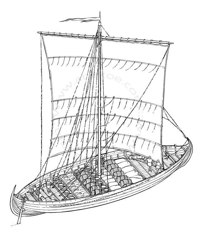 Wikinger-Museum Haithabu - cargo vessel (05)