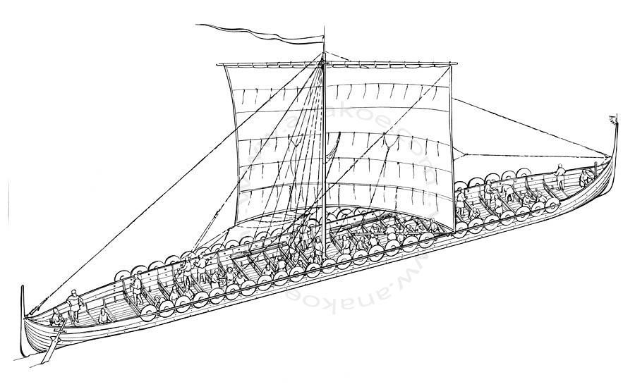 Wikinger-Museum Haithabu - war vessel (08)