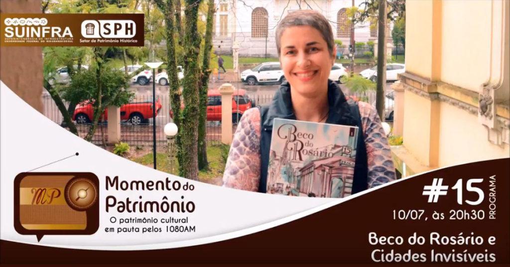 Momento do Patrimônio - Ana Luiza Koehler. Foto de Marcelo Souza.