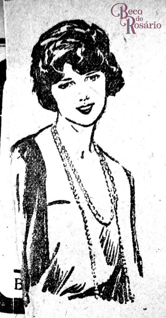 Talvez a primeira imagem que me chamou atenção pelo estilo. Anúncio num exemplar do jornal A Federação (RS) de 1925-26. Hemeroteca do MCSHJC.